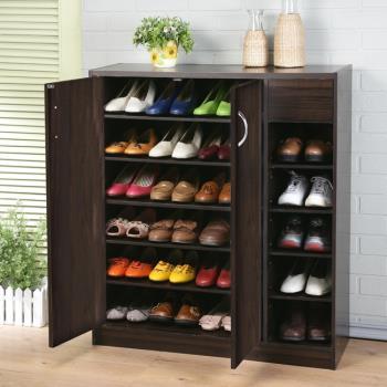 【澄境】收納家半開放式六層鞋櫃 -二色可選