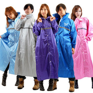 【東伸】尊爵型尼龍全開式雨衣