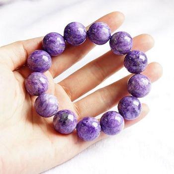【喨喨飾品】優雅純正的紫龍晶手鍊 (N304)