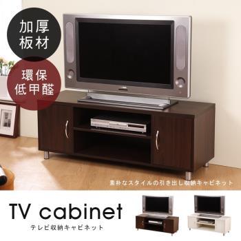 【澄境】克瑞斯現代時尚雙門電視櫃 -二色可選