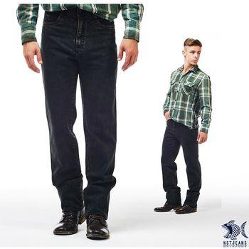 【NST Jeans】385(6881) 極光綠 復古綠調 小直筒單寧長褲(中低腰窄版)