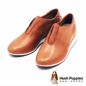 Hush Puppies 多功能都會運動風輕量休閒鞋 女鞋-棕(另有黑)