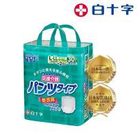 白十字  日本全透氣高吸收復健褲L-LL30片x3-箱購90片