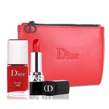 Dior 迪奧 經典藍星美甲三件組