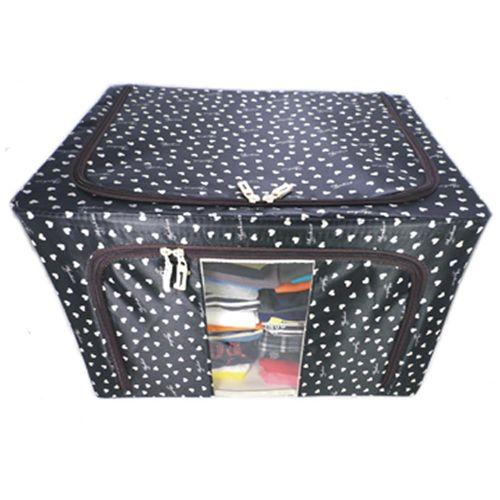 【易麗特】折疊收納箱(66L)-3入組