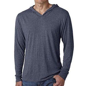 美國國民 2017男時尚靛藍色混紡針織長袖帽ㄒ(預購)
