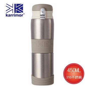 Karrimor 316不銹鋼真空彈蓋保溫瓶450ml