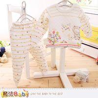 魔法Baby 兒童居家套裝 3~5歲專櫃款超厚三層棉極暖睡衣套裝~k60218
