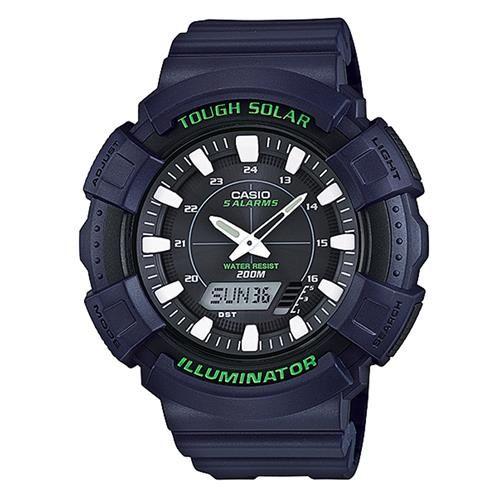 CASIO 全方位太陽能雙顯運動錶AD-S800WH-2A