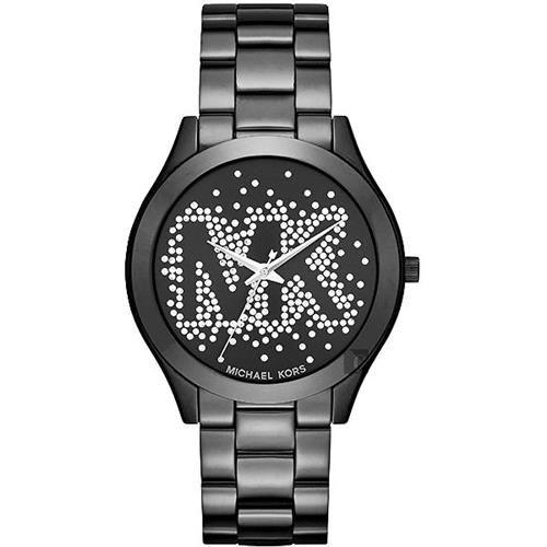 Michael Kors MK 璀燦星空晶鑽腕錶-黑/42mm MK3589