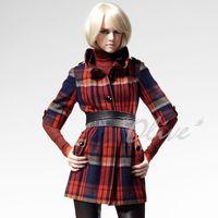 【CHENG DA】秋冬專櫃精品女裝時尚個性羊毛長版外套 NO.303066(現貨+預購)