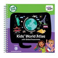 美國【LeapFrog 跳跳蛙】LeapStart Sr.全英兒童行動學習書籍 兒童1- 世界文化