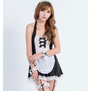 天使霓裳 女僕 甜漾專屬 女僕角色扮演表演服(黑F) GV15303