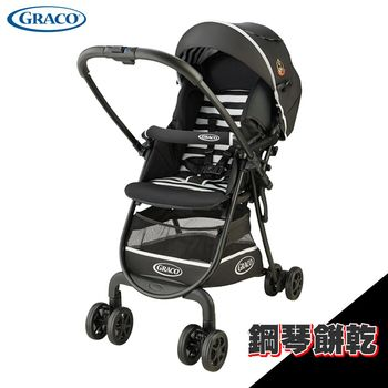 【GRACO】超輕量型雙向嬰幼兒手推車 城市漫遊R(挑高版 CitiLite R UP) - 鋼琴餅乾