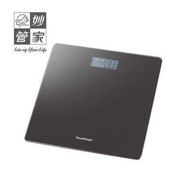 【妙管家】超薄玻璃電子體重計 HKES-0100
