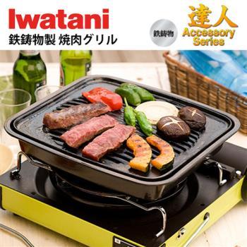 【Iwatani】日本岩谷鑄鐵牛排烤盤 CB-P-GM