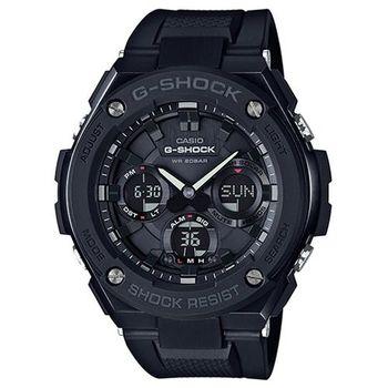 【CASIO】G-SHOCK 強悍分層防護構造防震概念錶 (GST-S100G-1B)