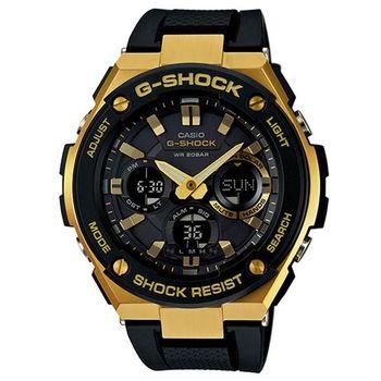 【CASIO】G-SHOCK 強悍分層防護構造防震概念錶 (GST-S100G-1A)