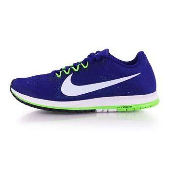 【NIKE】ZOOM STREAK 6 男女路跑鞋-慢跑 訓練 寶藍白