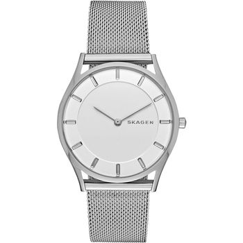 SKAGEN Holst 都會簡約腕錶-銀/34mm SKW2342