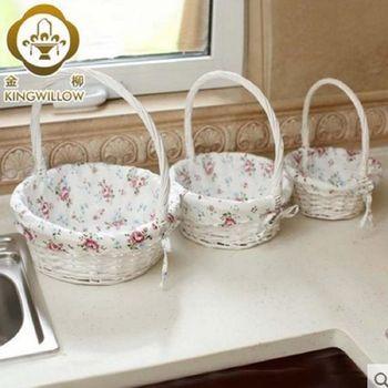 [協貿國際]  家居廚房收納盒置物籃