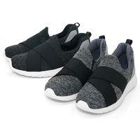 【101大尺碼女鞋】MIT潮流繃帶輕量化太空底情侶鞋♥黑色/灰色♥LKLS-AG
