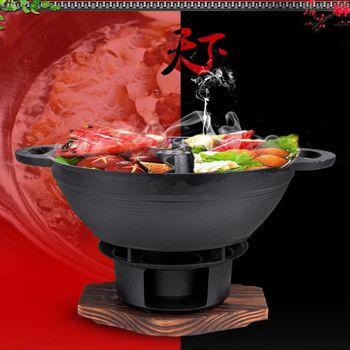 WASHAMl-鑄鐵鴛鴦鍋(29CM)