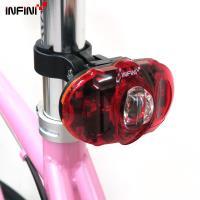 【INFINI】VISTA I-406R 3高亮度紅光LED廣角2段式警示後燈