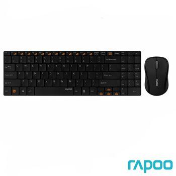 Rapoo 雷柏 9060 無線光學鍵鼠組 (黑)