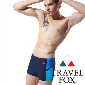 【TRAVELFOX 旅狐】基本款大男四角褲(C15905)
