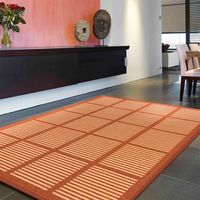 【范登伯格】富士品味自然簡約風格進口居家地毯-(紅)160x240cm