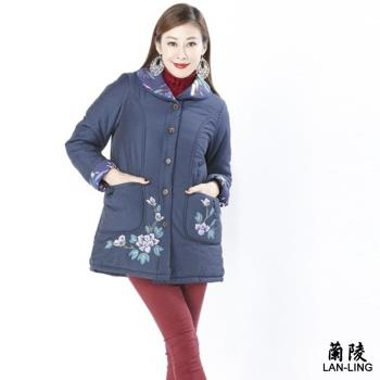蘭陵保暖鋪棉極顯瘦外套 103-09-33