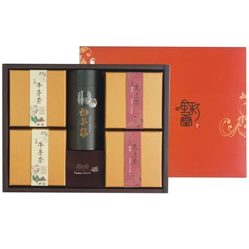 金彩堂 牛蒡禮盒旗艦版 (牛蒡茶、牛蒡黑豆、柚子蔘)