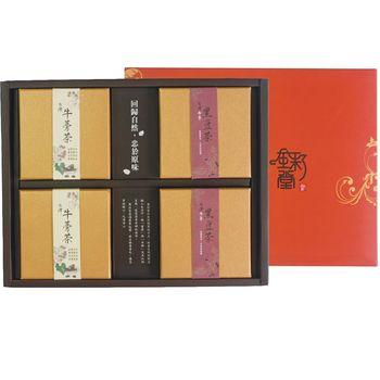 金彩堂 禮盒茶飲版  (牛蒡茶、牛蒡黑豆)