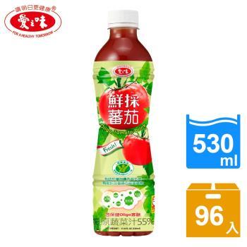 愛之味 鮮採蕃茄汁Oligo腸道保健4箱組(530ml x24入/箱)