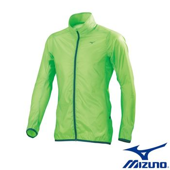 【Mizuno 美津濃】  可收納單層路跑風衣 運動外套 J2ME650037