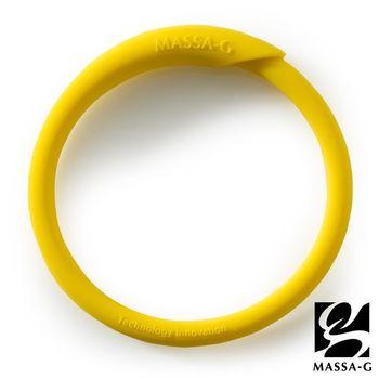 MASSA-G 炫彩動感負離子能量手環-黃