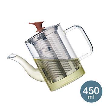 【妙管家】好客濾泡壺/泡茶壺 450ml HKP-450