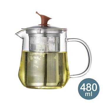 【妙管家】迎賓濾泡壺/泡茶壺 480ml HKP-480