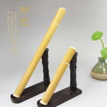 [協貿國際]玉竹長款拔口線香筒帶香插香道用具