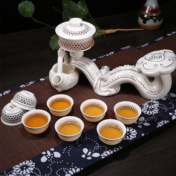 【Pure】玉如意自動茶具10件組