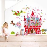 【法國 Janod】互動式磁性壁貼-公主城堡