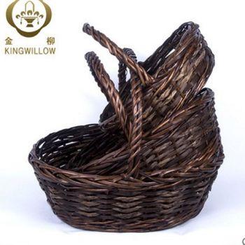 [協貿國際]  家居廚房收納籃置物籃