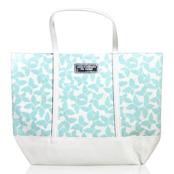CLINIQUE 倩碧 x KEITA 日本設計師 限量花漾綠蝶手提包