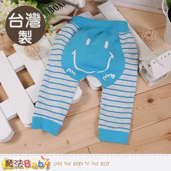 魔法Baby 寶寶長褲 台灣製嬰幼兒秋束口冬長褲~k60229