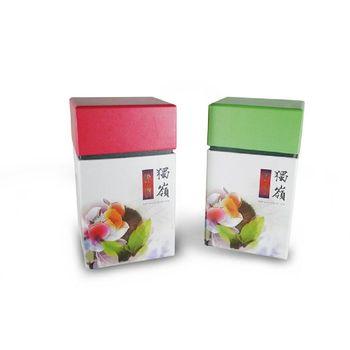 【茗揚四海】頭等師-紅配綠組合 茉韻綠茶X1+日月潭蜜香紅茶X2(150g x 1罐.50g*2罐 共250克)