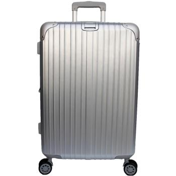 YC Eason 麗致20吋PC髮絲紋可加大行李箱-銀色