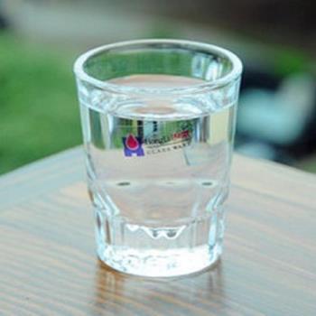 [協貿國際]   加厚洋酒杯烈酒杯厚底啤酒杯  5入
