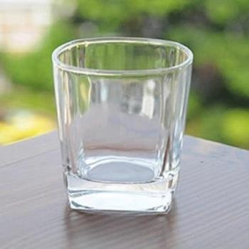 [協貿國際]   加厚玻璃杯透明水杯子威士忌杯  5入