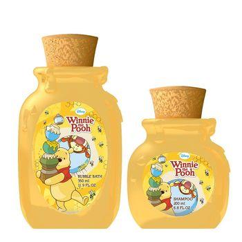 Disney Winnie The Pooh 小熊維尼香氛泡泡浴 350ml+小熊維尼香氛洗髮精 200ml